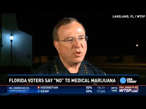 Medical marijuana fails by slim margin in Florida