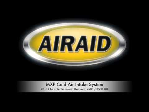 AIRAID Intake for the 2013-2014 Chevy Silverado with a Duramax 6.6L LML Engine