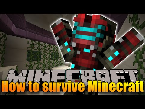 JAK PŘEŽÍT V MINECRAFTU? - Minecraft Puzzle Map: How To Survive Minecraft!