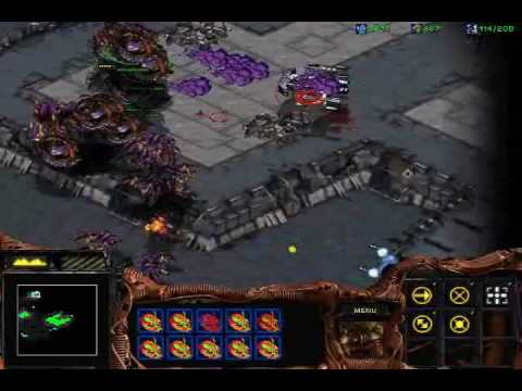 Starcraft: Brood War - Zerg Mission 10: Omega + Ending + Credits
