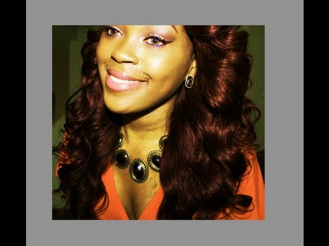 How I Went From Black To Burgundy Hair Color