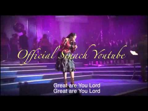 Sinach  Great Are You Lord Lyrics video
