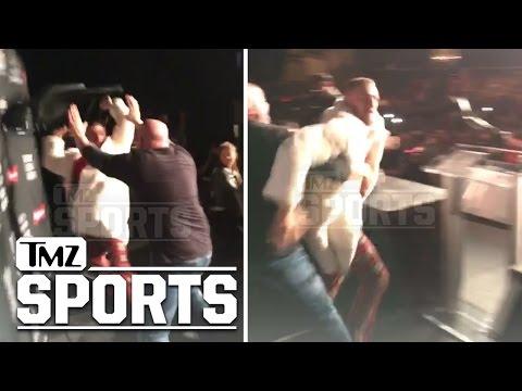 Conor McGregor & Eddie Alvarez In Crazy New Fight Video | TMZ Sports