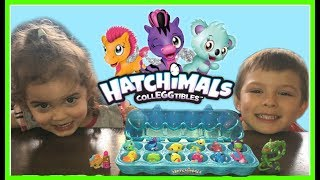 KIDS FUN PLAY EGG HUNT EGG SURPRISE HATCHIMALS TOYS