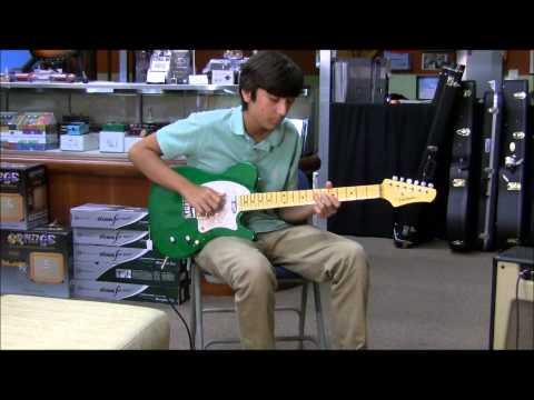 Buzz Feiten Guitar w ValveTrain Trenton Amp