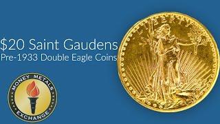 Saint Gaudens 1933 Double Eagle Coin | U.S. Mint | Money Metals Exchange