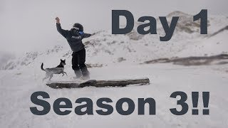 Snowboarding the First Snow of The 2018/19 Season - Arapahoe Basin Colorado - (Season 3, Day 1)