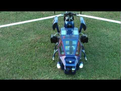 Blue Thunder RC Helikopter 700 3-Blatt Rundflug 1