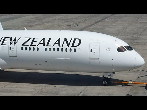 Air New Zealand`s Second Boeing 787-9 Dreamliner  ZK NZF