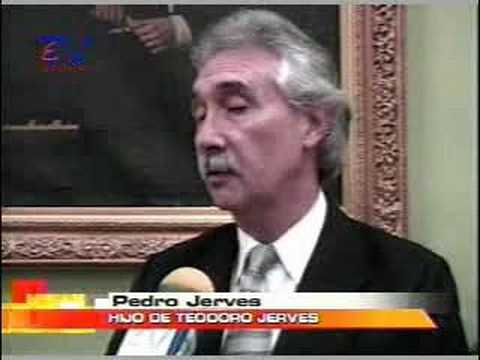 Realizan homenaje postumo a Teodoro Jerves