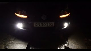 LED vs. HID xenon vs. Halogen light output
