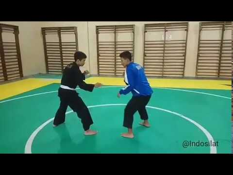 Teknik guntingan dan menjatuhkan pencak silat