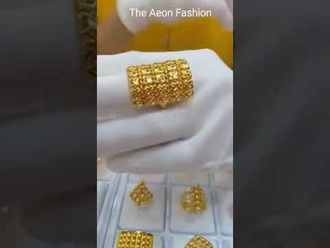 Latest Gold Designs Rings
