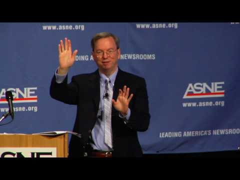 Eric Schmidt at the ASNE NewsNow 2010 Ideas Summit