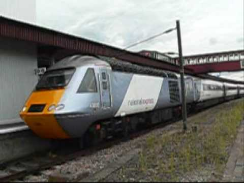 NXEC trains, claggy DMUs, thrashy Voyagers and a 66 at York station, 10-Jul-2009 - TrainBusJaguar. This video includes clips of - as it says on the tin - var...