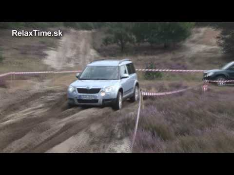 Skoda Yeti 4X4 off-road test - test SONY HDR105E