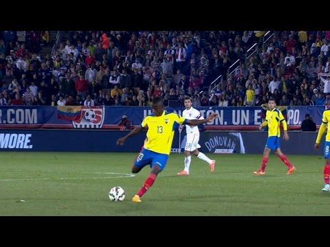 Enner Valencia goal v USA