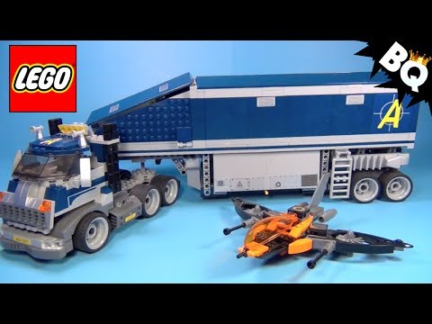 LEGO 8635 Mobile Command Center LEGO Agents Review