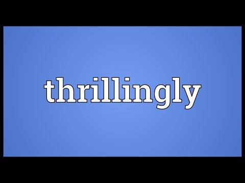 Header of thrillingly