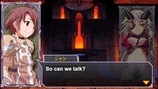 Queen's Gate Spiral Chaos Freetalks Translation: Aldra (2 of 2) (+kiss scene)