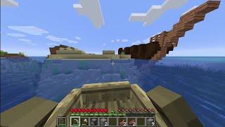 Minecraft sinh tồn 1.13.2 #1: Gặp tàu kho báu ngay tập đầu