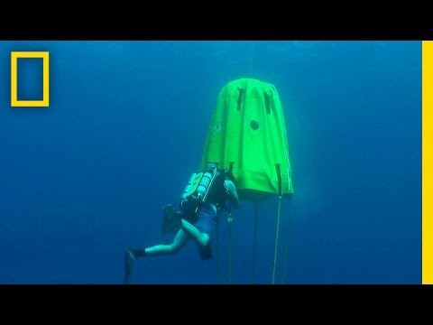 On Assignment: Portable Underwater Habitat Boosts Extreme Dives