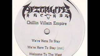 CVE - We're Here To Stay / Welcome To The West