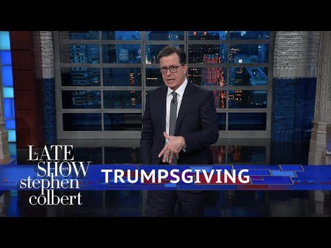Thanksgiving And Trump's (Lack Of) Giving