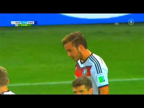 FIFA World Cup 2014 l FINAL MATCH l GERMANY vs  ARGENTINIA l HIGHLIGHT GOAL BY MARIO GÖTZE l WM 2014