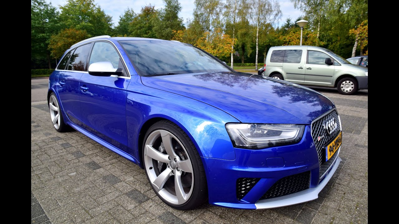 Audi rs4 avant 2013 youtube