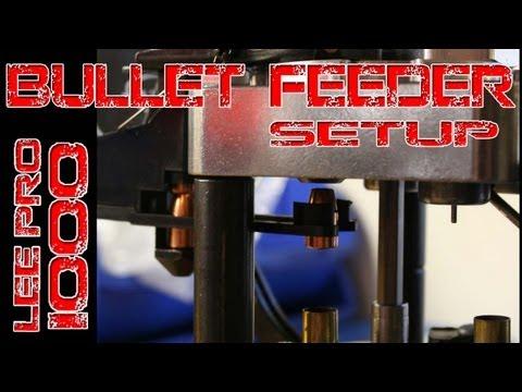 Lee Bullet Feeder Setup & size selection Lee Pro 1000