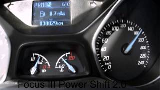 Ford Focus 3 2.0 PowerShift