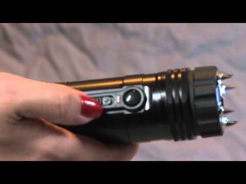 ZAP Light Extreme Stun Gun Flashlight - ZAP Light Extreme introduction video.