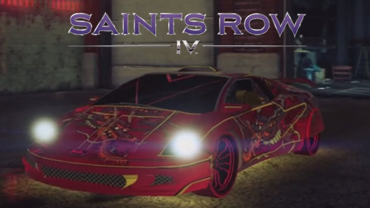 Saints Row 4 - Fastest Car In The Game [XBOX360/PS3] - YouTube