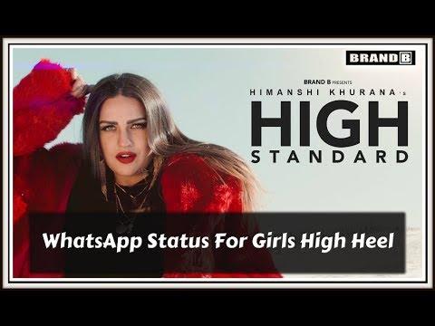 WhatsApp Status For Girls High Heel