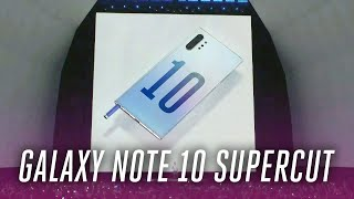 Samsung Galaxy Note 10 event in under 7 minutes