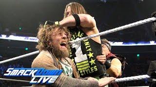 "AJ Styles crashes Daniel Bryan's interview on ""Miz TV"": SmackDown LIVE, Dec. 4, 2018"