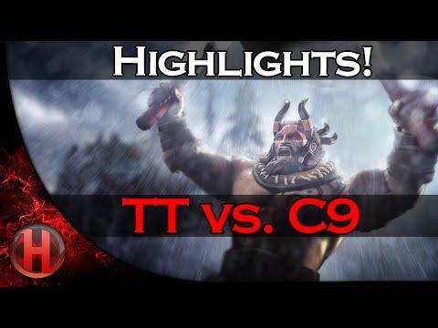 Highlights TT vs C9 Starladder 12 Dota 2