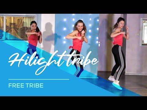 Hilight Tribe - Combat Fitness Workout Dance Choreography - Free Tibet - (Vini Vici Remix)
