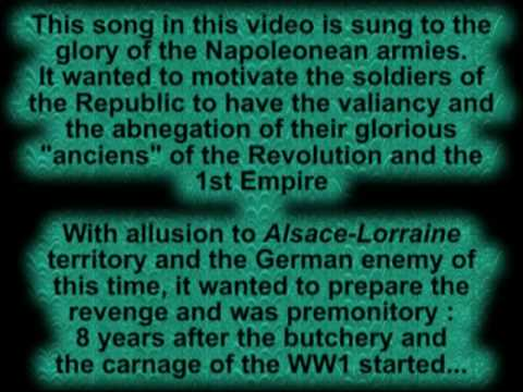 FRENCH Patriotic Song - The Dream passes - Le Rêve passe -1906- English SUB