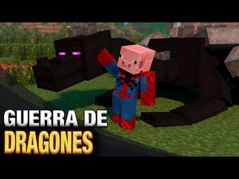 GUERRA DE DRAGONES | MINECRAFT