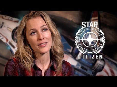 Gillian Anderson - Star Citizen Squadron 42: Behind the Scenes