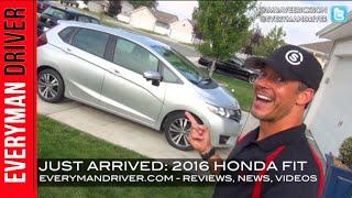 2016 Honda FIT on Everyman Driver (Just Arrived)