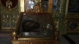 В Храме Иоанна Крестителя в Старом городе Иерусалима