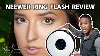 You NEED the Neewer Callapsible Ring Flash Softbox
