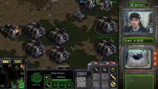 StarCraft Remastered 1v1 (FPVOD) Artosis (T) vs 4412421 (P) Fighting Spirit