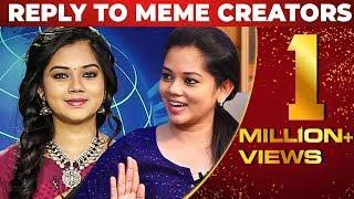 """I am beautiful"" – Sun News Anchor Anitha Sampath Reply To Meme Creators"