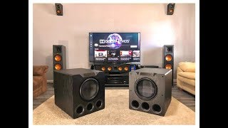 DUAL SVS PB-4000s?! Sorry neighbors...