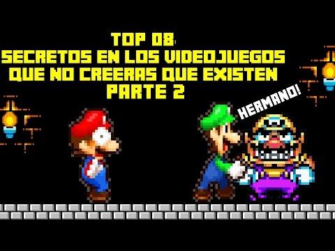 Top 8: Secretos en Los Videojuegos que No Creeras que Existen (PARTE 2) - Pepe el Mago