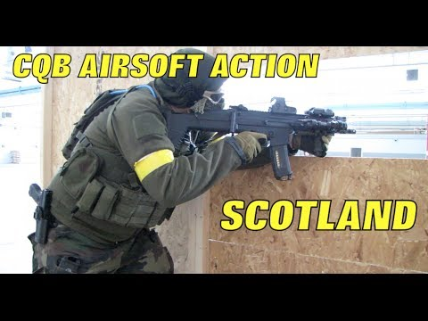 Airsoft War G&P MK18, M14, G36, MP5 1080p HD